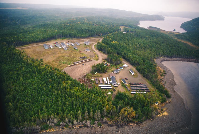 Peak employment for Marathon Gold's Valentine Lake project is expected to exceed 400 people. — Contributed