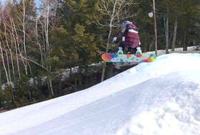Ella Bugden brought home three medals from the snowboarding competition the Marble Riders attended at Martock in N.S. March 6-8. The Marble Riders are the advanced snowboarding group that trains at Marble Mountain in Steady Brook.