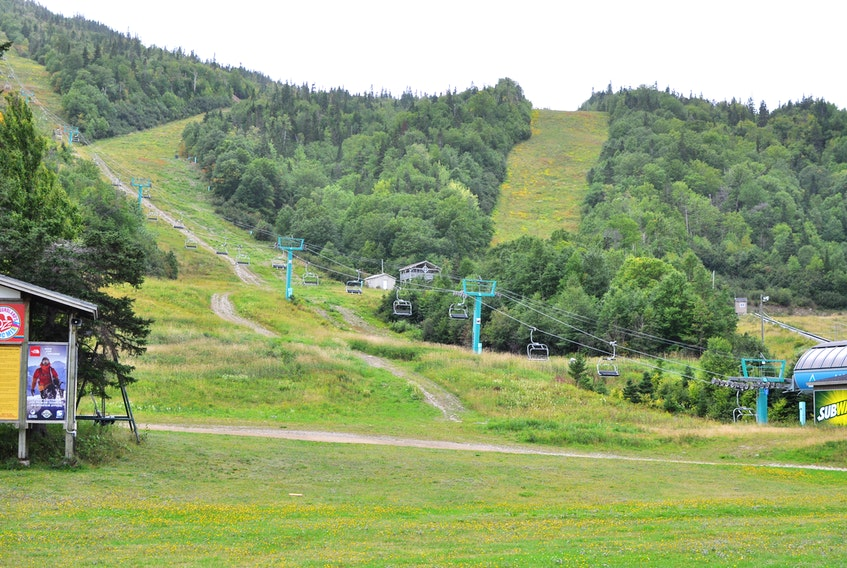 Work is now underway at Marble Mountain in Steady Brook to prepare the hill to reopen for the 2021 ski season.