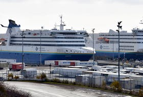 In this file photo, Marine Atlantic vessels are shown docked at the North Sydney terminal. A new ship is expected to join the fleet in 2023-24. JEREMY FRASER/CAPE BRETON POST