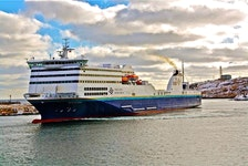 MV Blue Puttees. Contributed