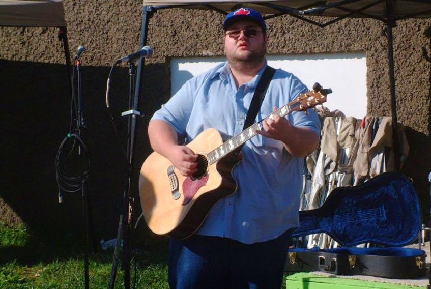 Scotty Marsters, who performed at the Wolfville Farmers' Market for Deep Roots, will be featured at Nigh Kitchen Splendiferous on Oct. 4 at the Al Whittle Theatre in Wolfville.