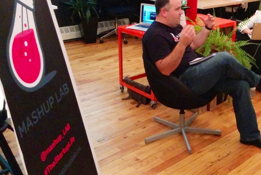 <p>Andrew Button, CEO and founder for the Mashup Lab, says the Mashup weekend is not just for business people.</p>