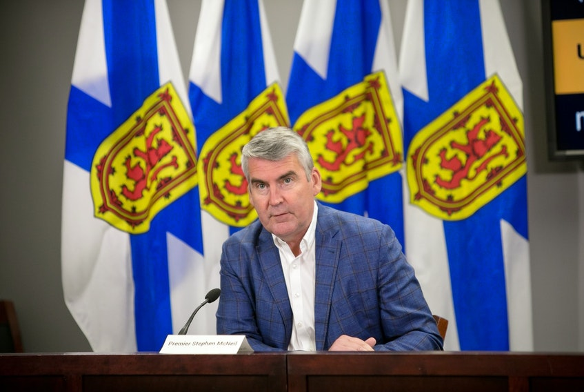 Premier Stephen McNeil said on Wednesday that the COVID Alert app is not meant to be a replacement for other COVID-19 control measures.