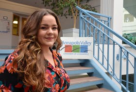 Breanna Hall of Centreville is proud to showcase the Annapolis Valley to medical residents in her new role as a community physician navigator. KIRK STARRATT