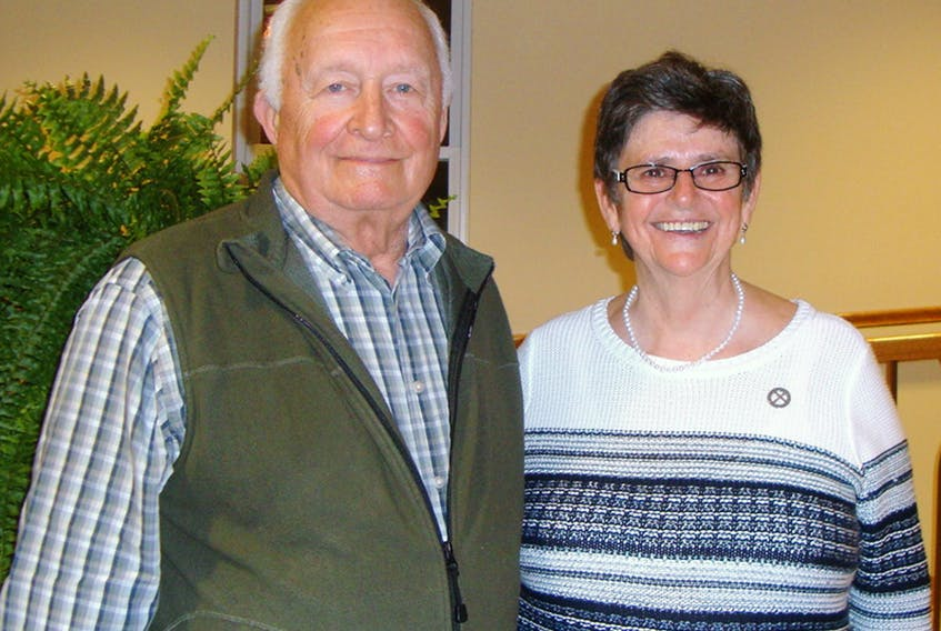 Gilles Michaud and Sr. Debbie Peters are part of a day of retreat and reflection for interested men on Saturday, Nov. 25. SUBMITTED PHOTO