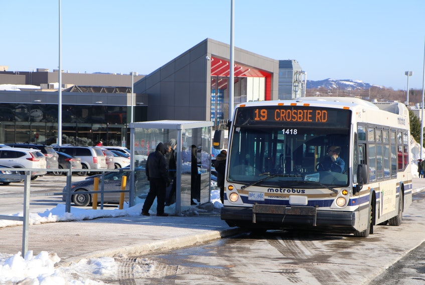 The decline in riders means an increase in the city subsidy to Metrobus by $243,810 this quarter, bringing the subsidy to just over $3.5-million. -TELEGRAM FILE PHOTO