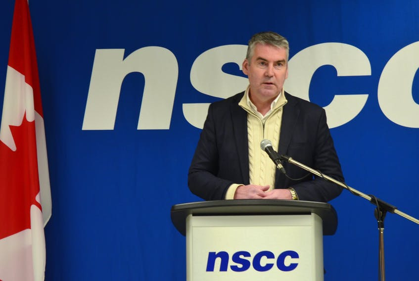 Premier Stephen McNeil was in Middleton Jan. 27 to announce funding to create a new model for seniors' care. HEATHER KILLEN