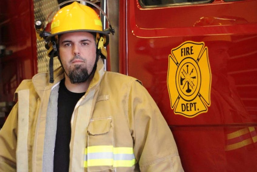 <p>Mike Shand was recently chosen to be firefighter of the year for the Shelburne Volunteer Fire Department.</p> <p>&nbsp;</p>