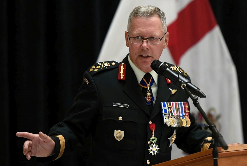 Gen. Jonathan Vance is under investigation for an improper sexual relationship while he was chief of the defence staff.