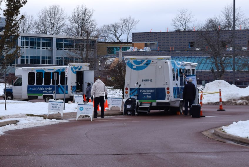 Public Health's mobile health units are offering mobile testing in Cape Breton this week. File