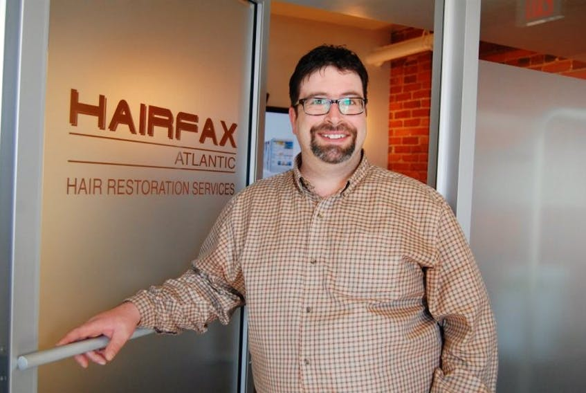 <p>Larry Gautreau, owner of Hairfax Atlantic, started wearing a hair system when he was 18, not because he needed to but because he wanted to experience what his clients experience wearing a hair system. Hairfax Atlantic opened its first Prince Edward Island office in March in Summerside.</p>