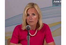 P.E.I. chief public health officer Dr. Heather Morrison speaks at the June 30 news briefing about the coronavirus (COVID-19) pandemic.