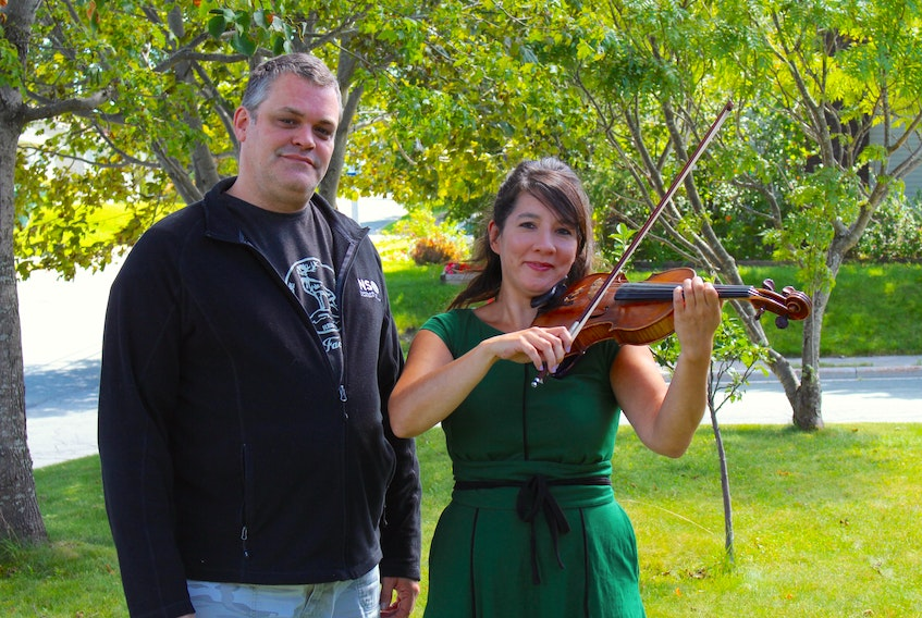 The Newfoundland Symphony Orchestra's production manager Steve Power and concertmaster Heather Kao have been voluntarily making a music video a day since the beginning of March and plan to do it until the end of the month. It's a lot of work, but at least they can do it in their pajamas. – SaltWire file photo