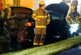 A home in Mount Pearl was the target Friday morning of a second firebombing in three days. Keith Gosse/The Telegram