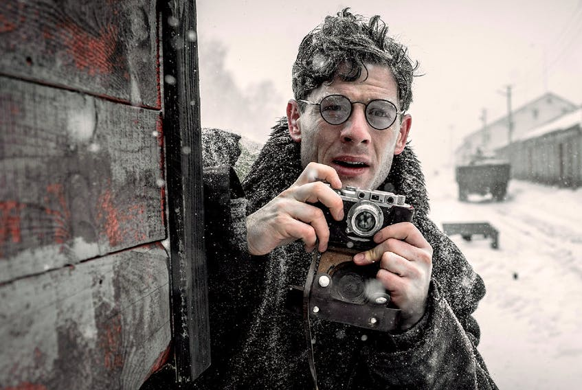 James Norton plays Welsh journalist Gareth Jones in Mr. Jones.