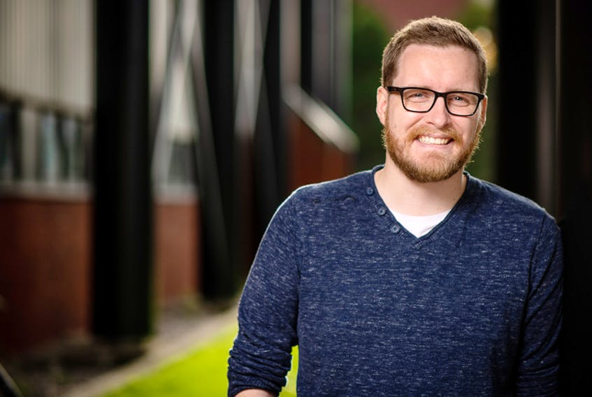 Evan Burry is the co-founder of Stormy Shore Studios, one of the first three companies participating in the Centre for Social Enterprise's new Social Ventures Incubator. — Rich Blenkinsopp/MUN