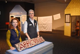 Denise Taylor and Andrew Phillips are expecting a large turnout at this year's Heritage Day activities planned for the Stellarton-based Museum of Industry. The museum has planned several activities as well as a special exhibit about Africville. ADAM MACINNIS/THE NEWS