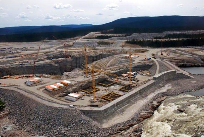 Muskrat Falls Construction Site – Powerhouse and Spillway - August 2014