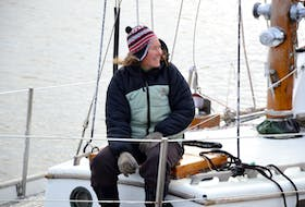 Kirsten Neuschäfer, captain of the Minnehaha, plans to sail her yacht in a race around the world in 2022. But first, she will spend the next several months on P.E.I. working on her vessel. She sailed to the city from Newfoundland earlier this month.