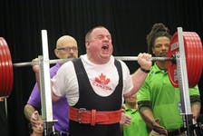 Shown here competing at the 2015 Special Olympics World Games, Corner Brook resident Jackie Barrett was selected for Canada's Sports Hall of Fame Wednesday. – Special Olympics Canada