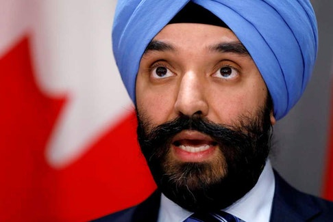 """Canada's Minister of Innovation, Science and Industry Navdeep Bains called the additional $250 million for the Strategic Innovation Fund a """"down payment,"""" suggesting more money is coming."""