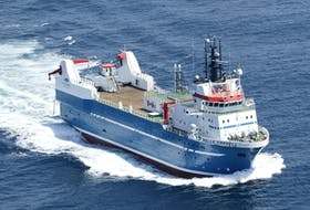 The Belle Carnell, part of Clearwater's offshore clam fishing fleet. Contributed