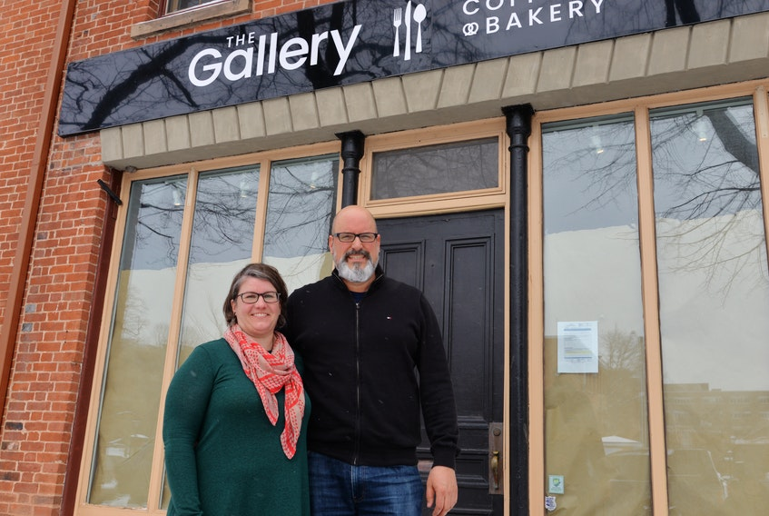 Mike and Jessica Fritz have opened The Gallery - Coffee House & Bakery on Great George Street in downtown Charlottetown.