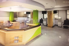A conceptual drawing of Digby General Hospital's new renal dialysis unit. CONTRIBUTED • NOVA SCOTIA HEALTH AUTHORITY