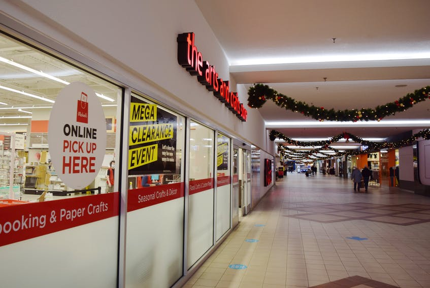 Michaels, which occupies a large piece of the Highland Square mall is closing the end of January 2021.