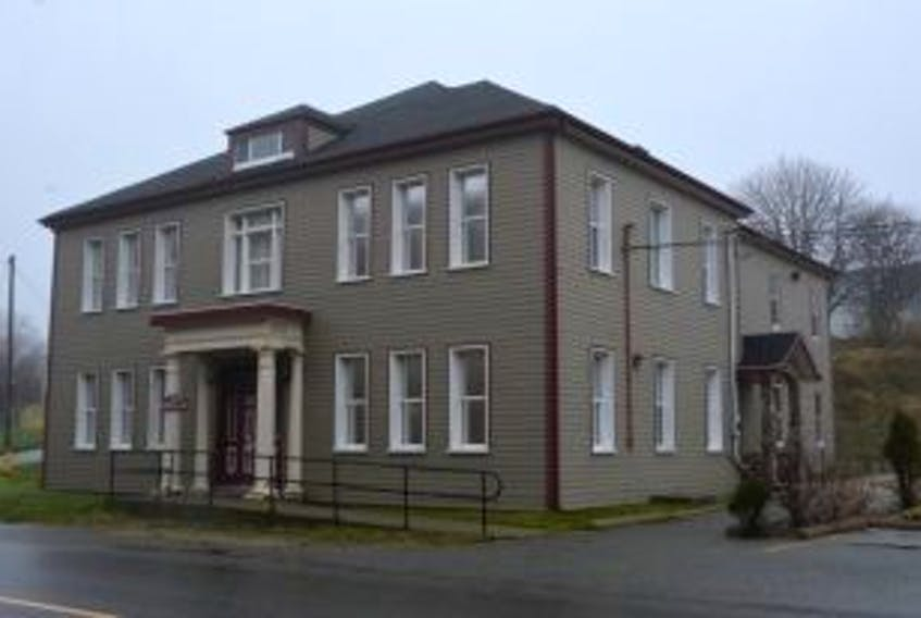 ['<p>This building on Water Street will serve as the new detachment building for the town RCMP.</p>']