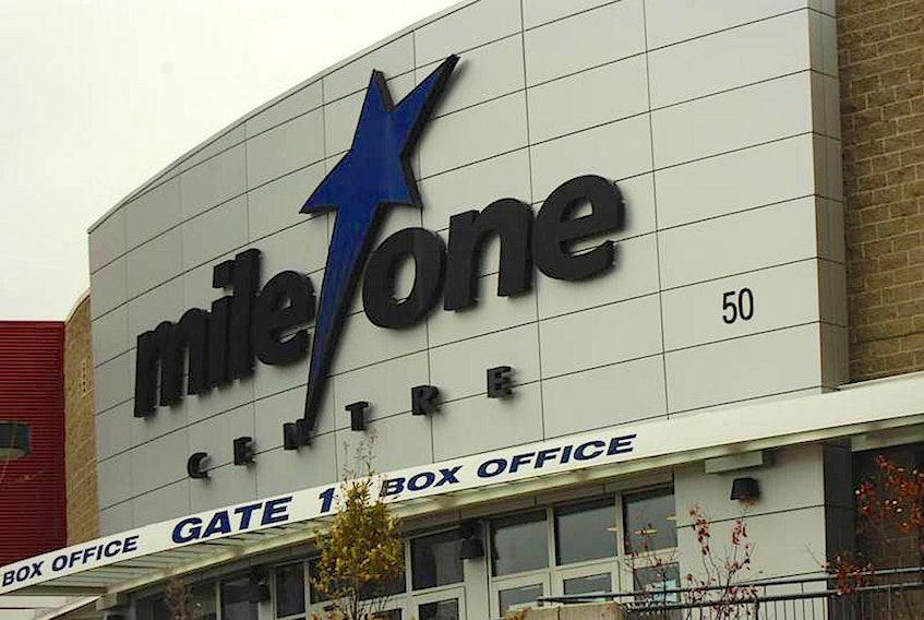 Mile One Centre in downtown St. John's. — File photo