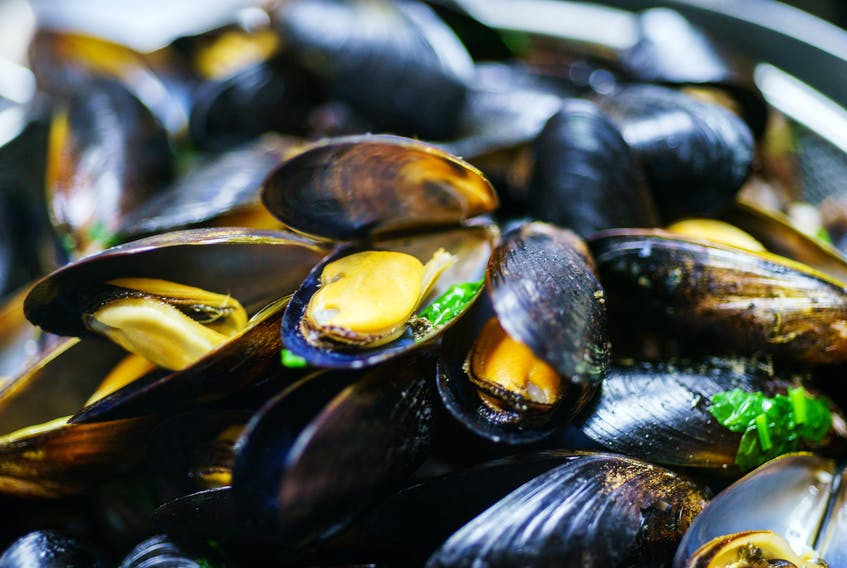 Mussels are just one of the products feature on a new website promoting Atlantic Canadian seafood products.