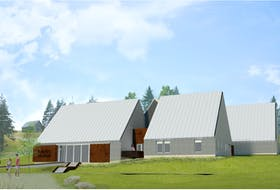 The new welcome centre at the Highland Village in Iona was designed by Abbot Brown Architects from Halifax and the contractor for the project is Brilun Construciton of Sydney. It is expected to be ready for the 2022 tourism season. CONTRIBUTED