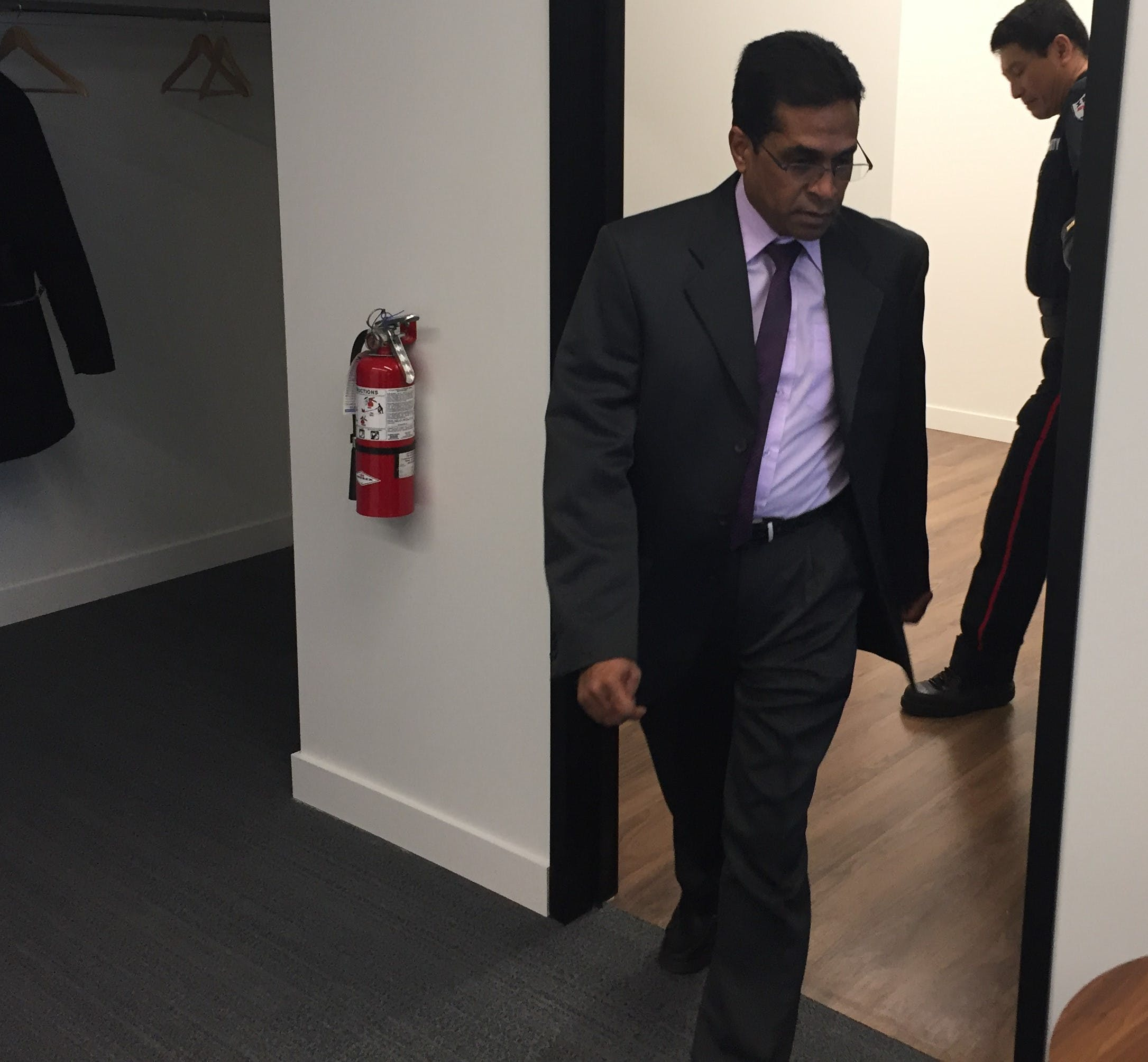 Dr. Manivasan Moodley, a Cape Breton gynecologist, faced allegations of professional misconduct and incompetence related to two patients in 2017 at the offices of the Nova Scotia College of Physicians and Surgeons in Bedford in February and March.