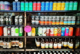 Marie's Mini Mart locations in the St. John's metro area started stocking a lot of craft breweries during the COVID-19 pandemic. — Landwash Brewery Facebook