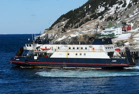 Photo of the Bell Island-Portugal Cove ferry the MV Flanders. -Photo by Joe Gibbons/The Telegram
