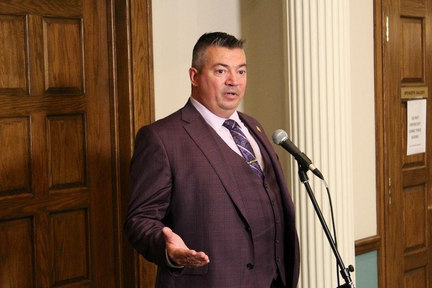 Terra Nova MHA and Opposition energy critic Lloyd Parrott — Telegram file photo