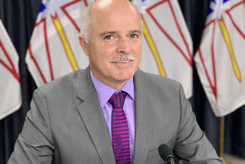 Education Minister Tom Osborne.