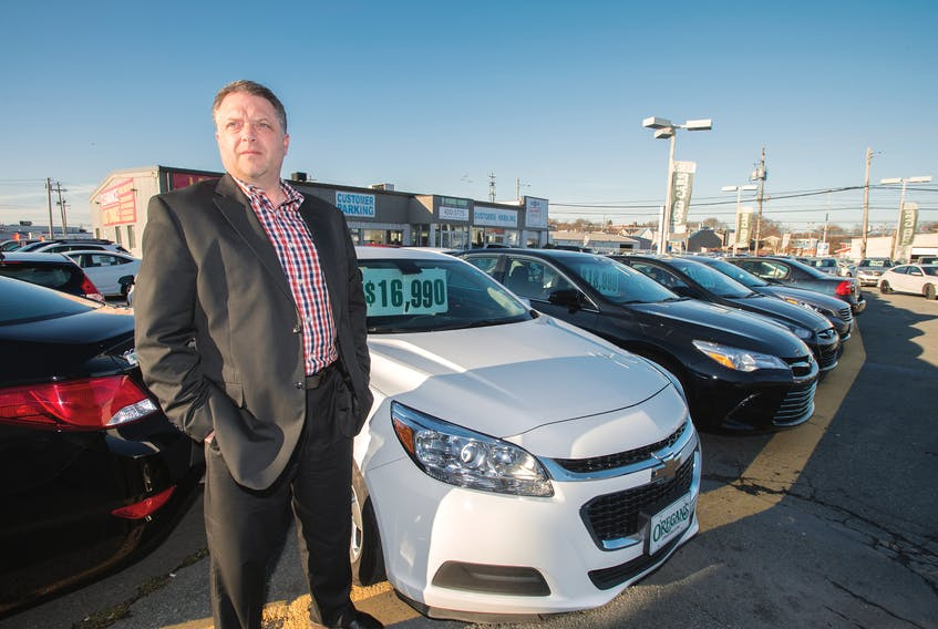 Duane Rudge, director of used car operations at O'Regan's in Halifax, suggests purchasing a car at the end of a model year.