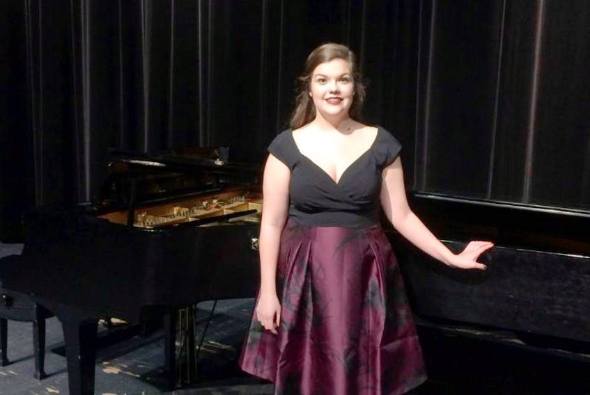 Laycie Sutherland is one of four singers from Nova Scotia heading to Ontario and Quebec this month to perform as part of the National Youth Choir.