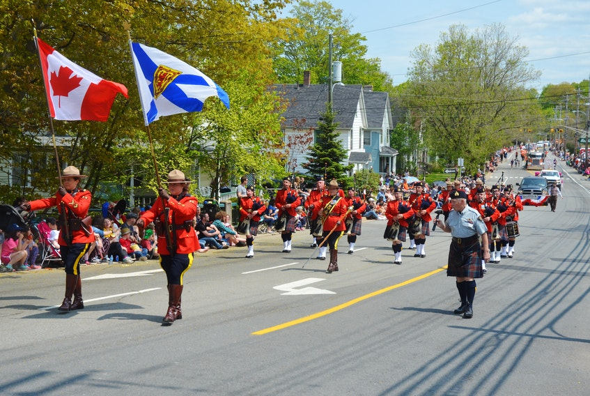 In 2019, the RCMP Pipes and Drums were well represented in the Apple Blossom Festival Grand Street Parade. Last year, the festival board of directors postponed the 88th annual festival due to COVID-19. It still isn't known if a traditional festival will be held in 2021. FILE PHOTO