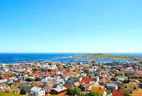 A panoramic view of the community of St-Pierre. — SaltWire Network file/Contributed