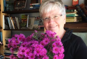 Dr. Eileen Donahoe, a psychologist whose focus is on trauma, including post-traumatic stress disorder, recently spoke at the Kentville Library. SUBMITTED