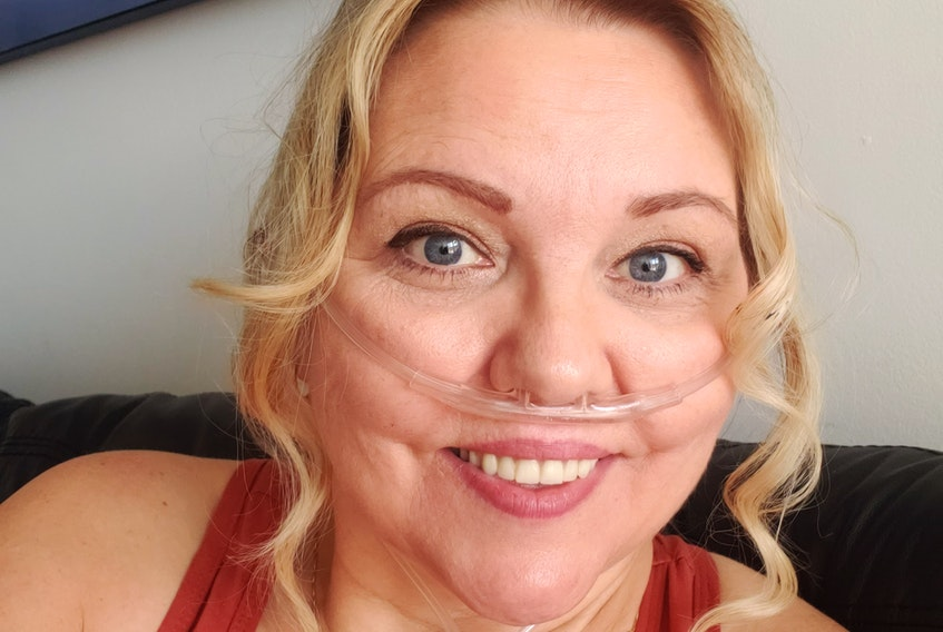 Annapolis Valley resident Karen Spencer underwent a double lung transplant at Toronto General Hospital on Sept. 1, 2020. - Contributed