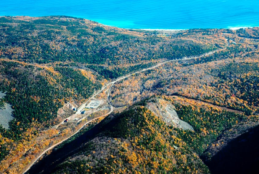 The Wreck Cove Hydro System is located in the Cape Breton Highlands and was commissioned in 1978. Submitted photo