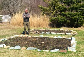 John DeMont is well on the way to having a victory garden. Lisa Napier Photo