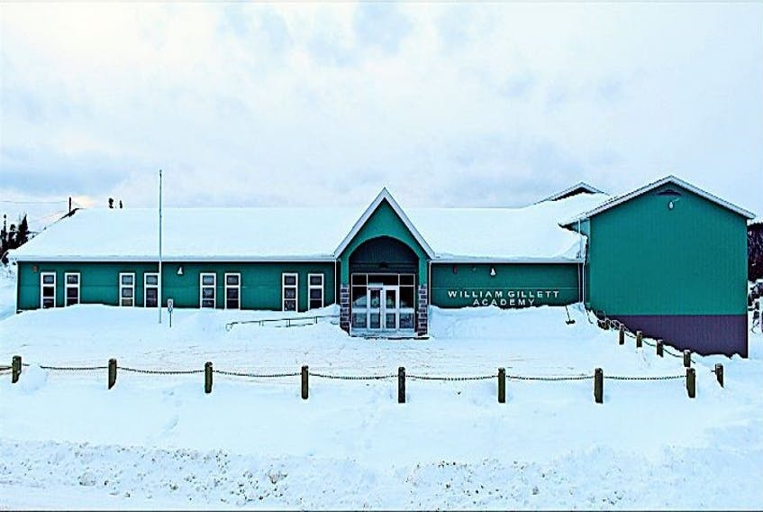 William Gillett Academy in Charlottetown, Labrador reopened a year ago after some extensive upgrading and renovations.