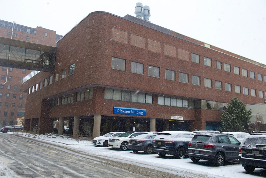 The Dickson Building at the VG site. Photo taken on Thursday, February 6, 2020. Health records will be transported from health centres across Nova Scotia to the building before being moved to the Iron Mountain facilities in Burnside. Ryan Taplin - The Chronicle Herald