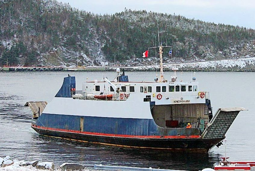 The Hazel McIsaac is presently on refit and is being replaced by the Norcon Galatea. The Galatea went back in service just before supper hour Dec. 2.